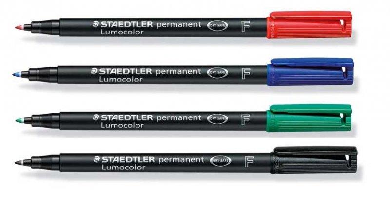 318 Marker Lumocolor permanent - fin - Staedtler