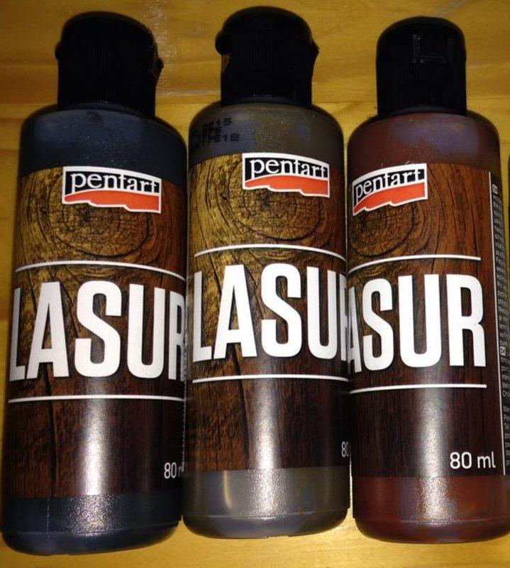 Lazura 80 ml, pentru exterior si interior - PENT
