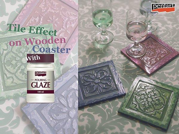 35358 - Pouring glaze 100ml - Pentart