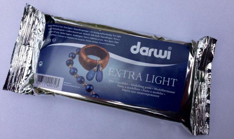 Pasta de modelat - Extra Light - Darwi - 160 gr