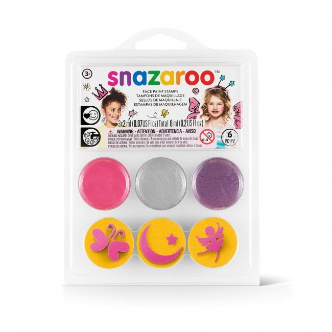 Kit face and body painting - kit pictura pe fata si corp - zane si fluturi - Snazaroo