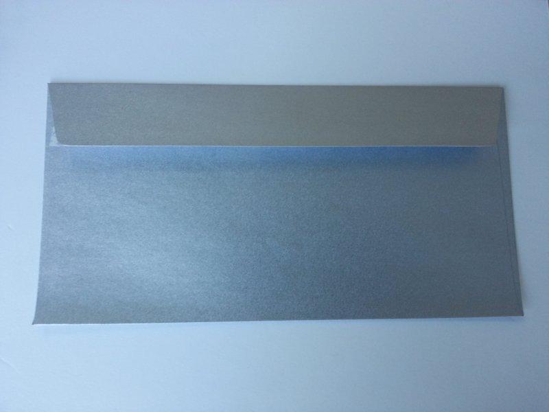 Plic argintiu 110x220mm,130gr-DD