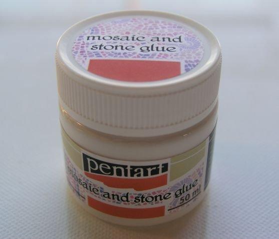 0655 - Adeziv pentru Mozaic si Piatra - Pentart - 50 ml - 52090