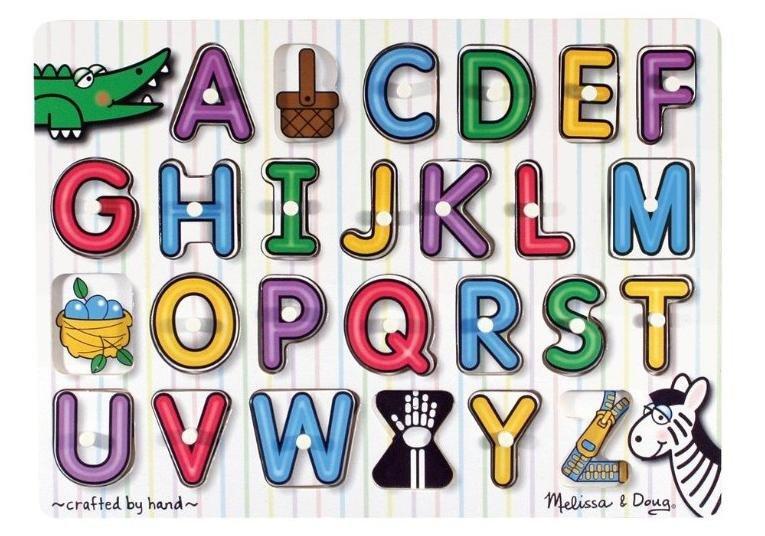 MD3272 - Puzzle lemn - Alfabet, 3 ani plus