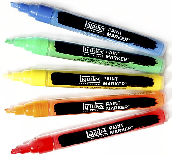 Professional Paint Marker 2-4 mm - Liquitex