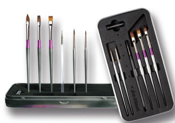 Set pensule unghii - Da Vinci - 11080
