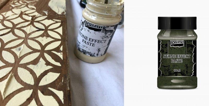 Stone paste - pasta efect piatra 100ml - Pentart