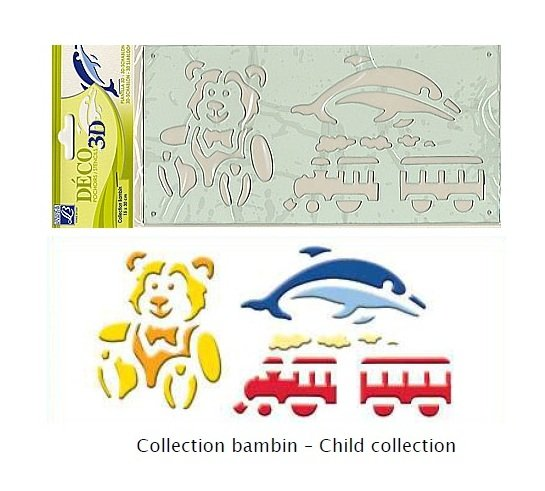 Sablon 3D - Child collection - Lefranc&Bourgeois