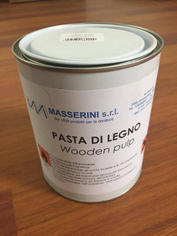 Pasta din lemn - Masserini - ptr. restaurare si modelare - 1kg