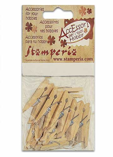 PC13 - Set 20 clestisori lemn, Stamperia
