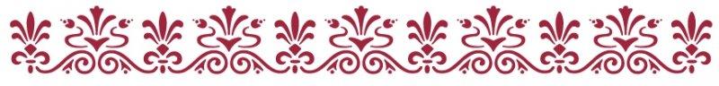 KSE54 - Sablon 60 x 7cm, Stamperia bordura - renaissance