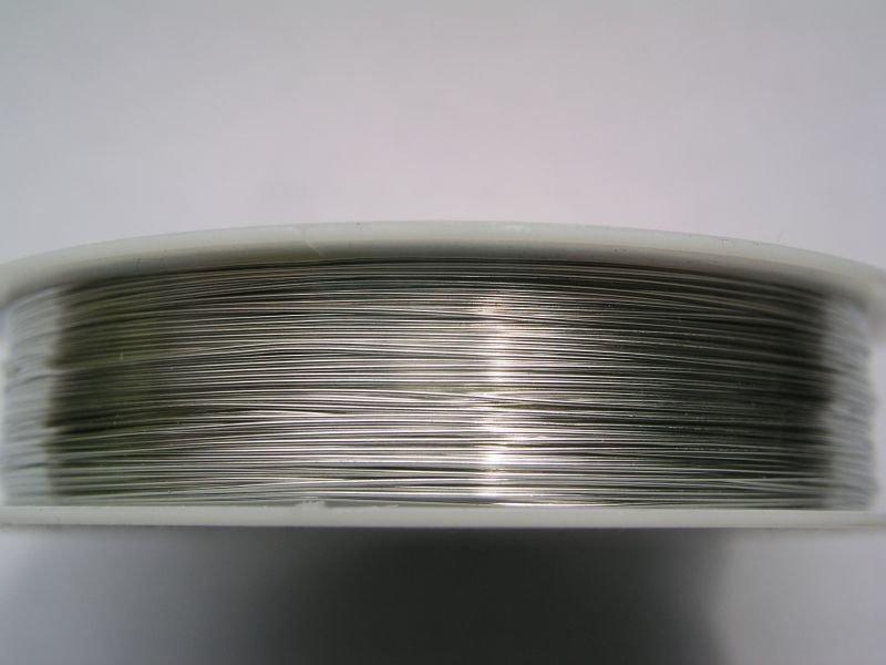 Sarma argintie 0.5 mm, aprox 8.5 m pe rola 1227B