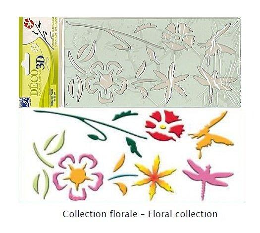 Sablon 3D - Floral collection - Lefranc&Bourgeois