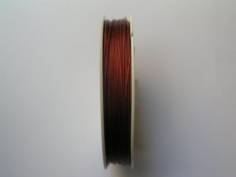 Sarma plasticata - 100 m - rosu - 1225B