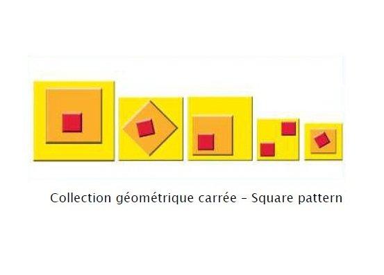 Sablon 3D - Square pattern - Lefranc&Bourgeois