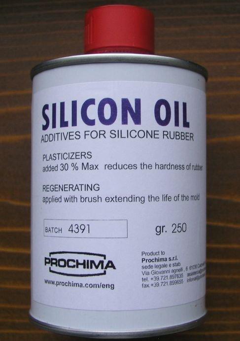 OS749G250 - Ulei pentru cauciuc siliconic 250 gr - Silicon Oil